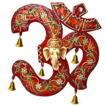 Vinayaka in Aum symbol
