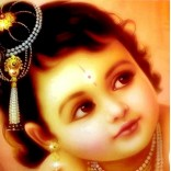 Baby Krishna Picture