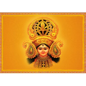 Goddess Durga Art