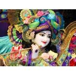 Decorated Iskcon Krishna