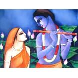 Painting of Lord Radhakrishna