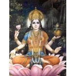 Painting of Lakshmi