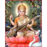 Painting of Goddess Saraswati 2