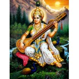 Painting of Goddess Saraswati 3