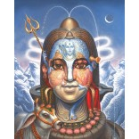 Lord Shiva face with Illusion